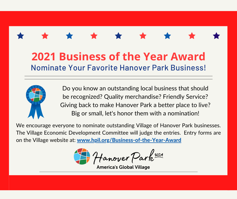 Business of the Year Flyer 2021